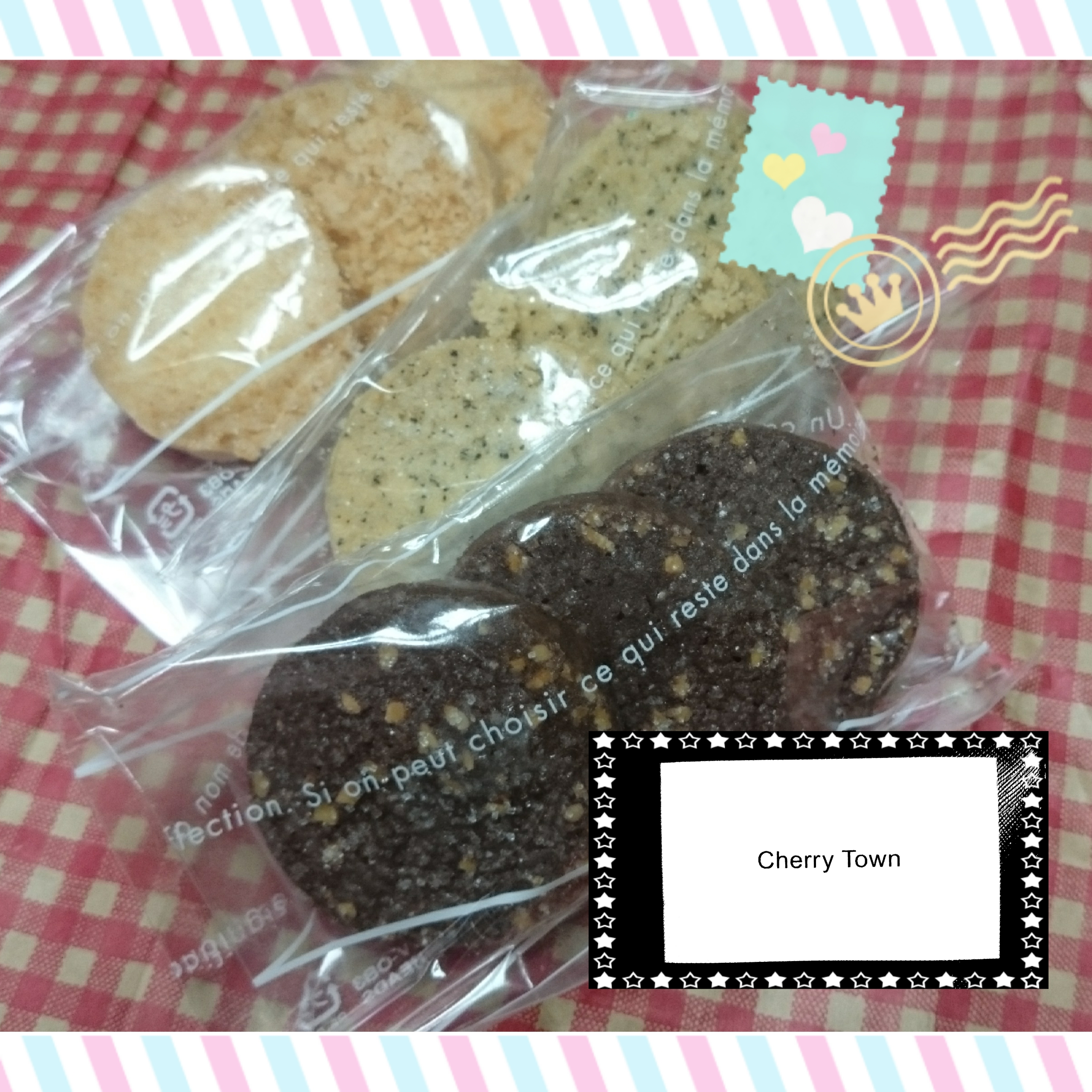 クッキー♪いろんな種類があります(*^^*)